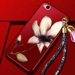 เคส Nubia N2 พลาสติกลายดอกไม้แสนสวยพร้อมสายคล้องมือ น่ารักมากๆ แบบที่ 1