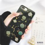 เคส iPhone 8 Plus พลาสติก TPU กากเพชรฟรุ้งฟริ้งน่ารักมาก แบบที่ 2