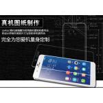 สำหรับ HUAWEI Honor 6 Plus ฟิล์มกระจกนิรภัยป้องกันหน้าจอ 9H Tempered Glass 2.5D (ขอบโค้งมน) HD Anti-fingerprint แบบที่ 1