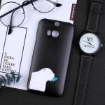 เคส HTC One M8 พลาสติกสกรีนลายน่ารักๆ เท่ หลายแนว แบบที่ 6