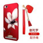 เคส Xiaomi Redmi 5A ซิลิโคนลายดอกไม้ พร้อมสายล้องสวยมากๆ แบบที่ 1