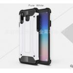 เคส Samsung A8 Star เคสกันกระแทกแยกประกอบ 2 ชิ้น ด้านในเป็นซิลิโคนสีดำ ด้านนอกพลาสติกเคลือบเงาโลหะเมทัลลิค แบบที่ 1