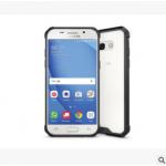 เคส Samsung A7 2017 พลาสติกโปร่งใส Crystal Clear ขอบปกป้องสวยงาม แบบที่ 1