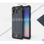 เคส Samsung A8 Star เคสกันกระแทกแยกประกอบ 2 ชิ้น ด้านในเป็นซิลิโคนสีดำ ด้านนอกพลาสติกเคลือบเงาโลหะเมทัลลิค แบบที่ 4