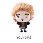 ชัคกี้ #GOT7 GOTOON DOLL Ver.3 : YOUNGJAE