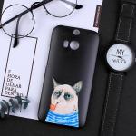 เคส HTC One M8 พลาสติกสกรีนลายน่ารักๆ เท่ หลายแนว แบบที่ 19