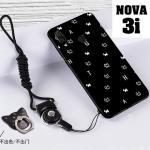 เคส Huawei Nova 3i เคสซิลิโคนลายการ์ตูน น่ารักๆ หลายลาย พร้อมแหวนจับมือถือลายเดียวกับเคส แบบที่ 6