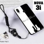เคส Huawei Nova 3i เคสซิลิโคนลายการ์ตูน น่ารักๆ หลายลาย พร้อมแหวนจับมือถือลายเดียวกับเคส แบบที่ 7