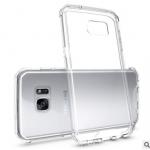 เคส Samsung S7 Edge พลาสติกโปร่งใส Crystal Clear ขอบปกป้องสวยงาม แบบที่ 1