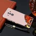เคส Huawei Mate 10 Pro รุ่น Aluminium Hybrid Mirror Back (เคสฝาหลังเงา) สีชมพู