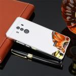 เคส Huawei Mate 10 Pro รุ่น Aluminium Hybrid Mirror Back (เคสฝาหลังเงา) สีเงิน