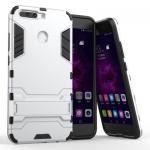 เคส Huawei Honor V9 เคสกันกระแทกแยกประกอบ 2 ชิ้น ด้านในเป็นซิลิโคนสีดำ ด้านนอกพลาสติกเคลือบเงาโลหะเมทัลลิค แบบที่ 2