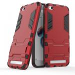 เคส Xiaomi Redmi 5A เคสกันกระแทกแยกประกอบ 2 ชิ้น ด้านในเป็นซิลิโคนสีดำ ด้านนอกพลาสติกเคลือบเงาโลหะเมทัลลิค แบบที่ 4