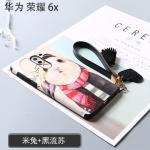 เคส Huawei GR5 (2017) พลาสติกสกรีนลายกราฟฟิกน่ารักๆ ไม่ซ้ำใคร สวยงามมาก แบบที่ 1