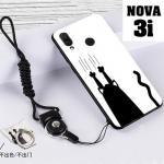 เคส Huawei Nova 3i เคสซิลิโคนลายการ์ตูน น่ารักๆ หลายลาย พร้อมแหวนจับมือถือลายเดียวกับเคส แบบที่ 23