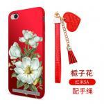 เคส Xiaomi Redmi 5A ซิลิโคนลายดอกไม้ พร้อมสายล้องสวยมากๆ แบบที่ 2