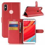 เคส Xiaomi Redmi S2 แบบฝาพับหนังเทียม ด้านในใส่บัตรได้ พับตั้งได้ แบบที่ 6
