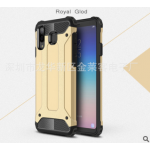 เคส Samsung A8 Star เคสกันกระแทกแยกประกอบ 2 ชิ้น ด้านในเป็นซิลิโคนสีดำ ด้านนอกพลาสติกเคลือบเงาโลหะเมทัลลิค แบบที่ 7