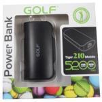 Power Bank Golf 5200 mAh Tiger 210 - สีดำ