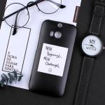 เคส HTC One M8 พลาสติกสกรีนลายน่ารักๆ เท่ หลายแนว แบบที่ 16