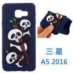 เคส Samsung A5 2016 ซิลิโคน soft case ประดับแพนด้าแสนน่ารัก แบบที่ 6