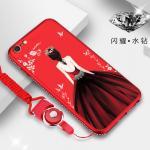 เคส OPPO A39 - A57 รุ่น Princess สีแดง#3