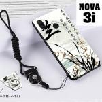 เคส Huawei Nova 3i เคสซิลิโคนลายการ์ตูน น่ารักๆ หลายลาย พร้อมแหวนจับมือถือลายเดียวกับเคส แบบที่ 11