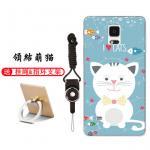 เคส Samsung Note 4 ซิลิโคน soft case สกรีนลายการ์ตูนพร้อมแหวนและสายคล้อง (รูปแบบแล้วแต่ร้านจีนแถมมา) น่ารักมาก แบบที่ 8