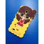 Case Vivo Y22 รุ่น Cute Girl สีเหลือง