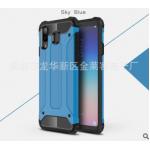 เคส Samsung A8 Star เคสกันกระแทกแยกประกอบ 2 ชิ้น ด้านในเป็นซิลิโคนสีดำ ด้านนอกพลาสติกเคลือบเงาโลหะเมทัลลิค แบบที่ 6