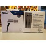 หูฟัง Rha S500 Universal Mic รุ่นใหม่ หูฟังอินเอียร์มีไมค์ แบรนจากอังกฤษ รายละเอียดเสียงเยี่ยม หูฟังทำจากโลหะ รูปทรงหรูหรา