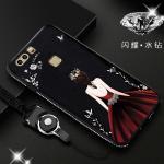 เคส Huawei P9 รุ่น Princess สีดำ#3
