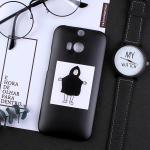 เคส HTC One M8 พลาสติกสกรีนลายน่ารักๆ เท่ หลายแนว แบบที่ 11