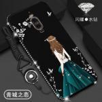 เคส Huawei Mate 9 Pro ลายผู้หญิง สีดำ#2