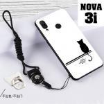 เคส Huawei Nova 3i เคสซิลิโคนลายการ์ตูน น่ารักๆ หลายลาย พร้อมแหวนจับมือถือลายเดียวกับเคส แบบที่ 2