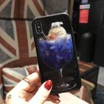 เคส iPhone X พลาสติก TPU สกรีนลายสวยงามมาก สามารถดึงกางออกมาตั้งได้ แบบที่ 7