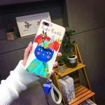 เคส animal Frida Kahlo สายคล้องข้อมือ ไอโฟน 7 4.7 นิ้ว-แมว