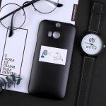 เคส HTC One M8 พลาสติกสกรีนลายน่ารักๆ เท่ หลายแนว แบบที่ 8