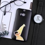 เคส HTC One M8 พลาสติกสกรีนลายน่ารักๆ เท่ หลายแนว แบบที่ 12