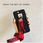 เคส Pc ด้าน +สาย Love Love ไอโฟน 5/5se/5s-แดง