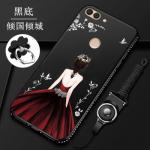 เคส Huawei Y9 (2018) ซิลิโคนลายผู้หญิงแสนสวยมากๆ แบบที่ 5