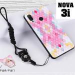 เคส Huawei Nova 3i เคสซิลิโคนลายการ์ตูน น่ารักๆ หลายลาย พร้อมแหวนจับมือถือลายเดียวกับเคส แบบที่ 18