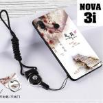 เคส Huawei Nova 3i เคสซิลิโคนลายการ์ตูน น่ารักๆ หลายลาย พร้อมแหวนจับมือถือลายเดียวกับเคส แบบที่ 22