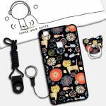 เคส VIVO V3 ซิลิโคน soft case สกรีนลายการ์ตูนน่ารักๆ พร้อมสายคล้องและแหวน แบบที่ 9
