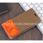 เคส Huawei Y9 (2018) แบบฝาพับสีทูโทน สามารถพัยตั้งได้ แบบที่ 6