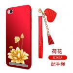เคส Xiaomi Redmi 5A ซิลิโคนลายดอกไม้ พร้อมสายล้องสวยมากๆ แบบที่ 6