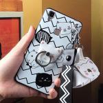 เคส VIVO V3พลาสติกสกีนลายน้องแมว พร้อมสายคล้องมือและกระเป๋าเก็บสายหูฟัง แบบที่ 1