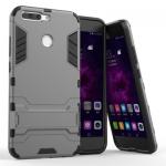 เคส Huawei Honor V9 เคสกันกระแทกแยกประกอบ 2 ชิ้น ด้านในเป็นซิลิโคนสีดำ ด้านนอกพลาสติกเคลือบเงาโลหะเมทัลลิค แบบที่ 1