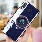 เคส Samsung A8 Star ซิลิโคนรูปกล้องถ่ายรูปน่ารัก ตรงเลนส์สามารถยืดออกมาตั้งได้ แบบที่ 3