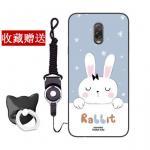 เคส Samsung J7+ (J7 Plus) ซิลิโคน soft case สกรีนลายการ์ตูนพร้อมแหวนและสายคล้อง (รูปแบบแล้วแต่ร้านจีนแถมมา) น่ารักมาก แบบที่ 4